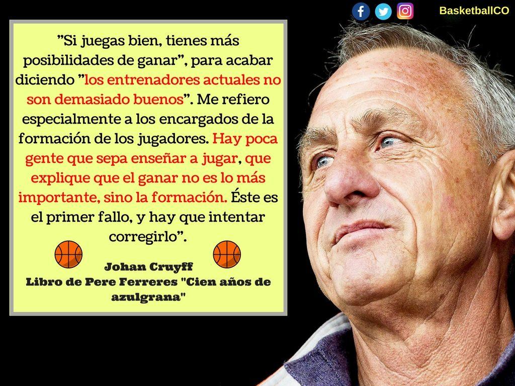 johan cruyff 1024x768 - Texto de Johan Cruyff hablando de los entrenadores de formación
